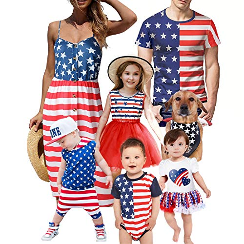 Simplee Kids 4th of July Outfits Toddler Baby Boy USA Flag Stripe Hooded Vest Shorts Sets Patriotic Clothing for 12-18 -