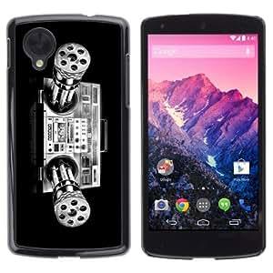 YOYOSHOP [Cool Minigun Boombox Illustration] LG Google Nexus 5 Case