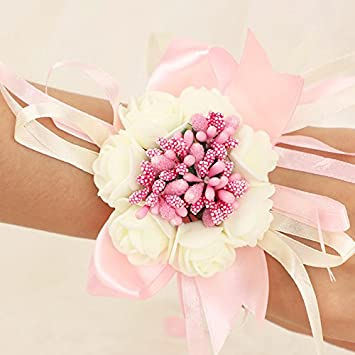 Ajunr-Hochzeit Handschuhe Hochzeit Zubehör Bänder Handgelenke Blumen ...