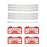 4 Hepa Filters & 6 Blades and 1 Squeegee for Neato XV-11 XV-12...