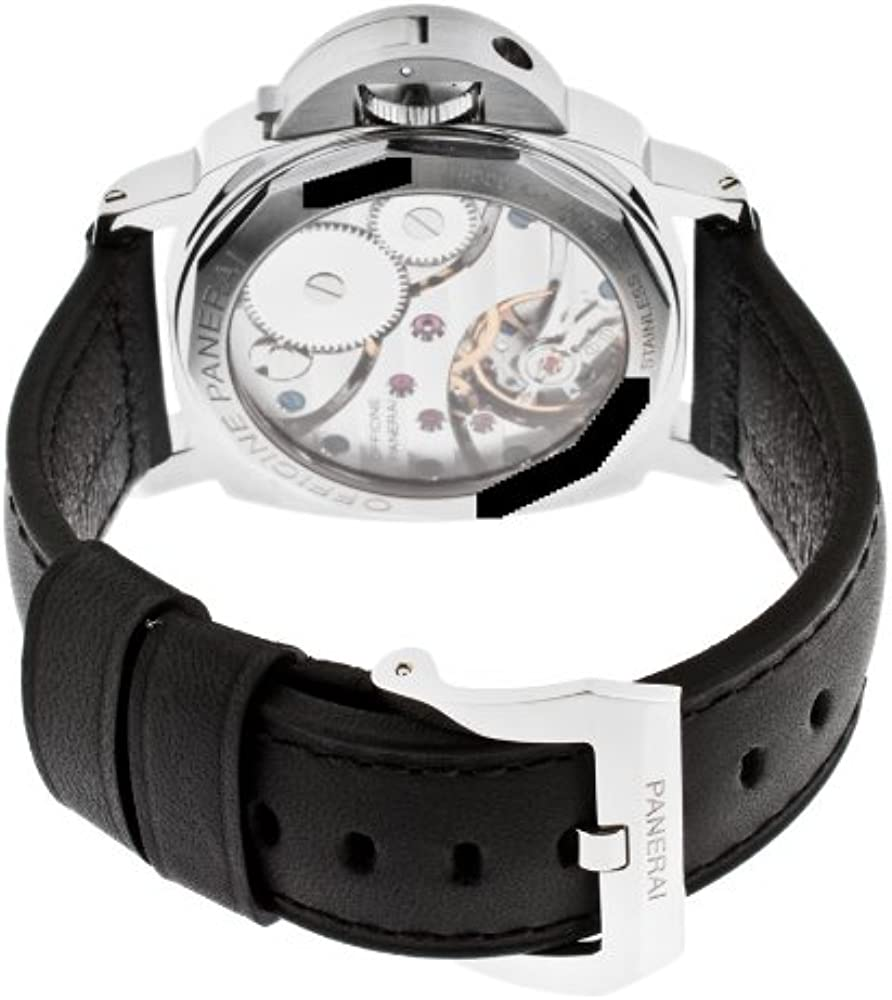 buy online e9dc1 41602 Panerai Men's PAM00219 Luminor Base Lefty Crown Watch ...