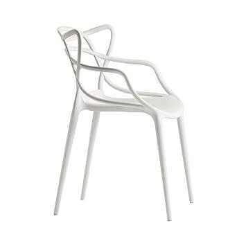 Wunderbar Kartell Stuhl Masters Weiß Philippe Starck Mit Eugeni Quitllet,  Polyethylen, Durchgefärbt Master Stapelstuhl