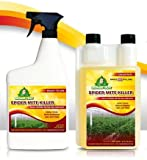 Growers Trust Spider Mite Killer Non-toxic, Biodegradable - Natural Pesticide -Organic Ingredients-Earth Friendly Pest Control(Solution Makes 25 gallons RTU)