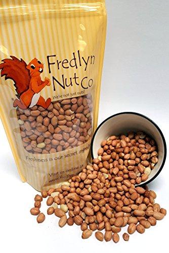 Raw Spanish Peanuts - 1lb Reclosable Bag