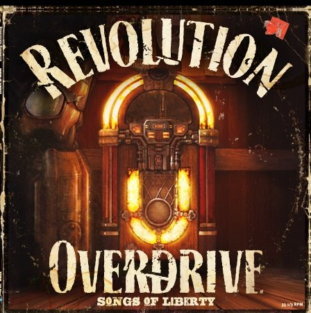 Revolution Overdrive: Songs of Liberty - StarCraft II LP Record Album