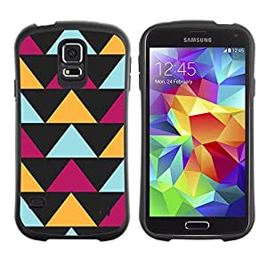 "Pulsar iFace Series Tpu silicona Carcasa Funda Case para Samsung Galaxy S5 , Negro Modelo púrpura amarillo"""