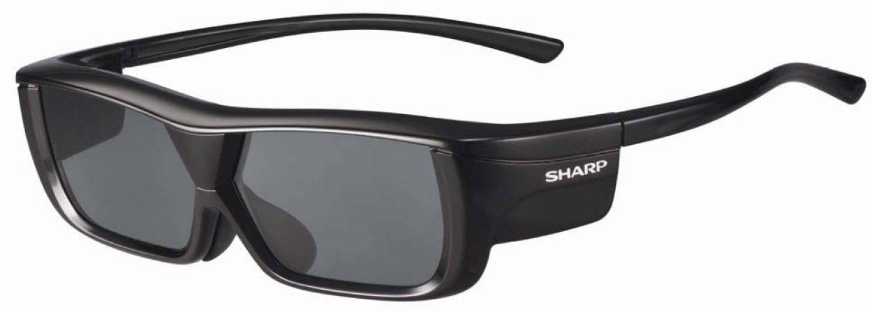 Sharp AN3DG20B 3D Glasses, Black-Single (Discontinued by Manufacturer)