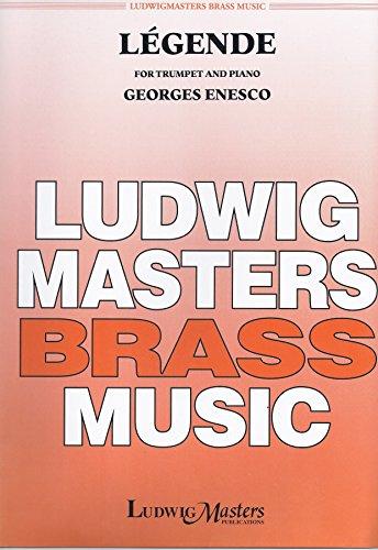 Legende By Enescu (Enesco), George. For Trumpet in C / Piano. Score & Part.