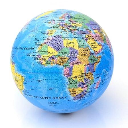 revolving globe model earth electric detailed desk globe multi