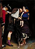 Oil Painting 'John Everett Millais - The Order Of Release,1746' 8 x 11 inch / 20 x 28 cm , on High Definition HD canvas prints is for Gifts And Basement, Kids Room And Powder Room Decoration