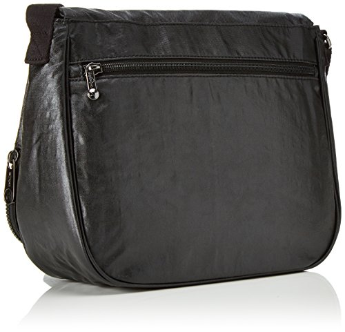 Women��s Bag M Lacquer Cross Body Kipling Night Black Earthbeat OaqOwd