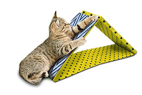 Pet Zone 2-in-1 Dual Incline Cat Scratcher ()