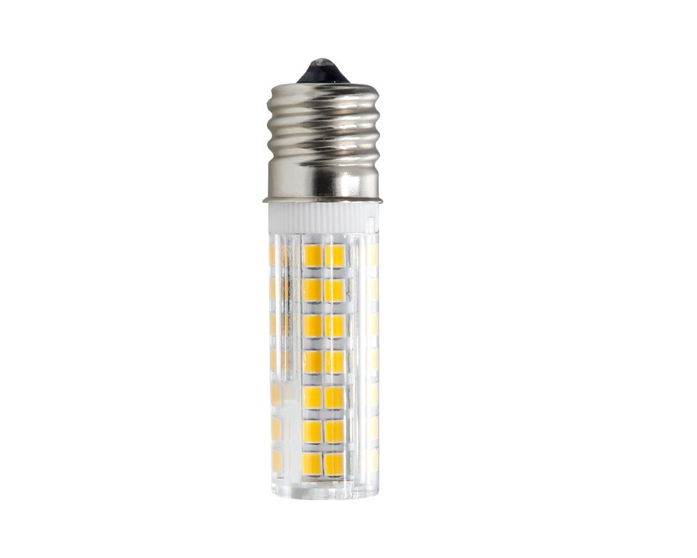 102/×2835SMD Dimmable E17 LED Microwave Appliance Compatible Bulb All-New E17 LED Bulb 7.5W Warm White 120v 75w Equivalent Pack of 2