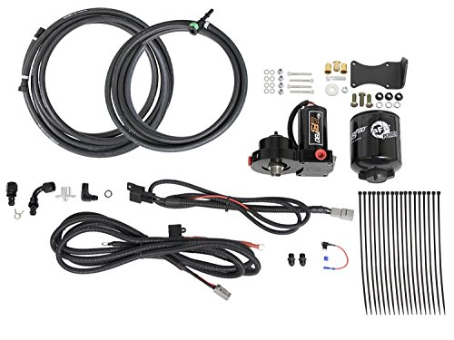 Afe Stock Replacement - aFe Power 42-22013 DFS780 PRO Fuel Pump; Full-Time Operation; Incl. Manifold Assy/Filter/Marine Grade Motor/Hoses/Power and Relay Harness/Clamps/Hardware; 187 GPH at 18-20 PSI Flow Rating;