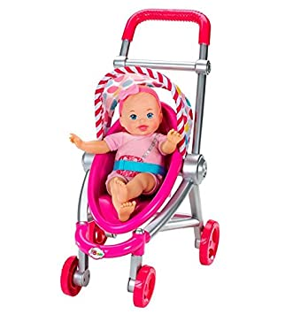 Amazon.es: Little Mommy - Muñeca Bebita y su Carrito (Mattel ...