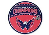 NHL Official National Hockey League Fan Shop Authentic 2018 Stanley Cup Champions Washington Capitals 12'' Jumbo Magnet