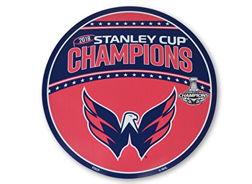 NHL Official National Hockey League Fan Shop Authentic 2018 Stanley Cup Champions Washington Capitals 12'' Jumbo Magnet by NHL
