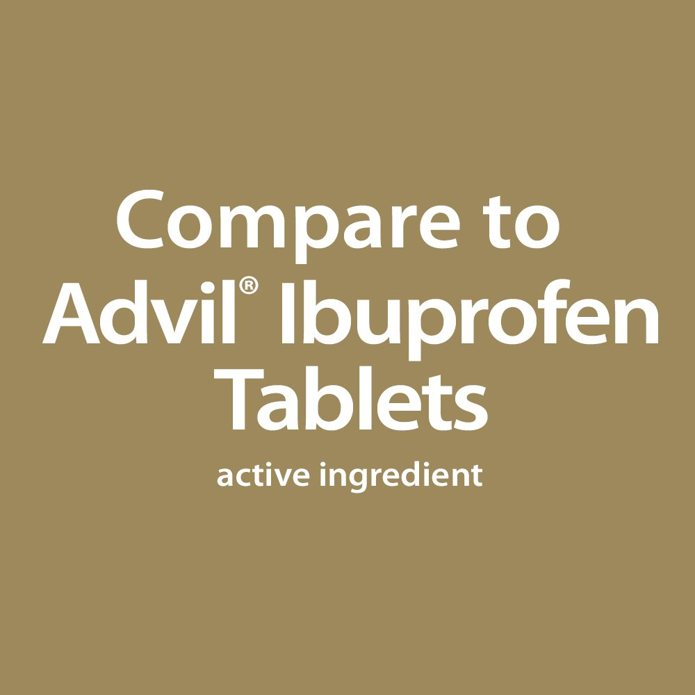 GoodSense Ibuprofen Pain Reliever/Fever Reducer Tablets (NSAID), 200 mg, 50 Count by Good Sense (Image #2)