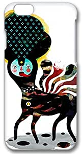 Iphone 6 (PC) Case,Iphone 6 Cases ,Abstract quadruped animal figure Custom Iphone 6(4.7)High-grade PC Cases