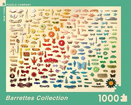 New York Puzzle Company - Jim Golden Barrettes - 1000 Piece Jigsaw Puzzle