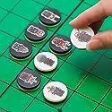リバーシゲーム。戦国武将寝返りゲーム、乱(RAN)。サムライアーマーズ SAMURAIarmors ボードゲーム。