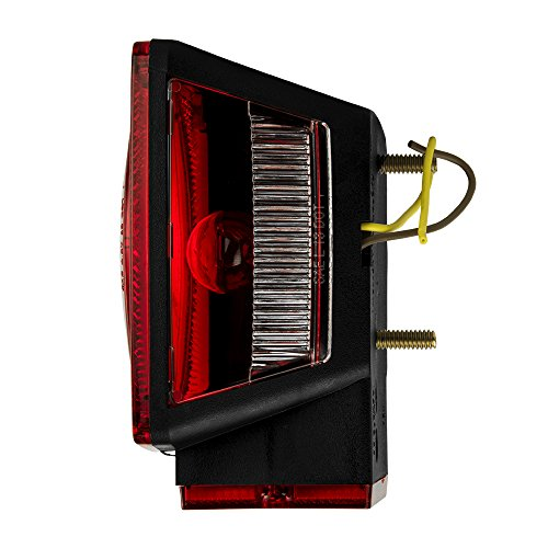 028845003116 - Blazer C6423 Square Trailer Light Kit - Red carousel main 2