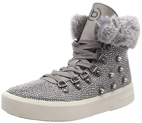 11 1512 Boots Light Bugatti Ankle 31407e 4 Grey Women's 8SHqF1t