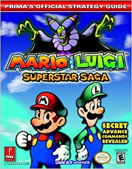 Mario Luigi Superstar Saga Prima S Official Strategy