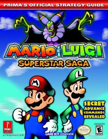Mario Luigi Superstar Saga Prima S Official Strategy Guide