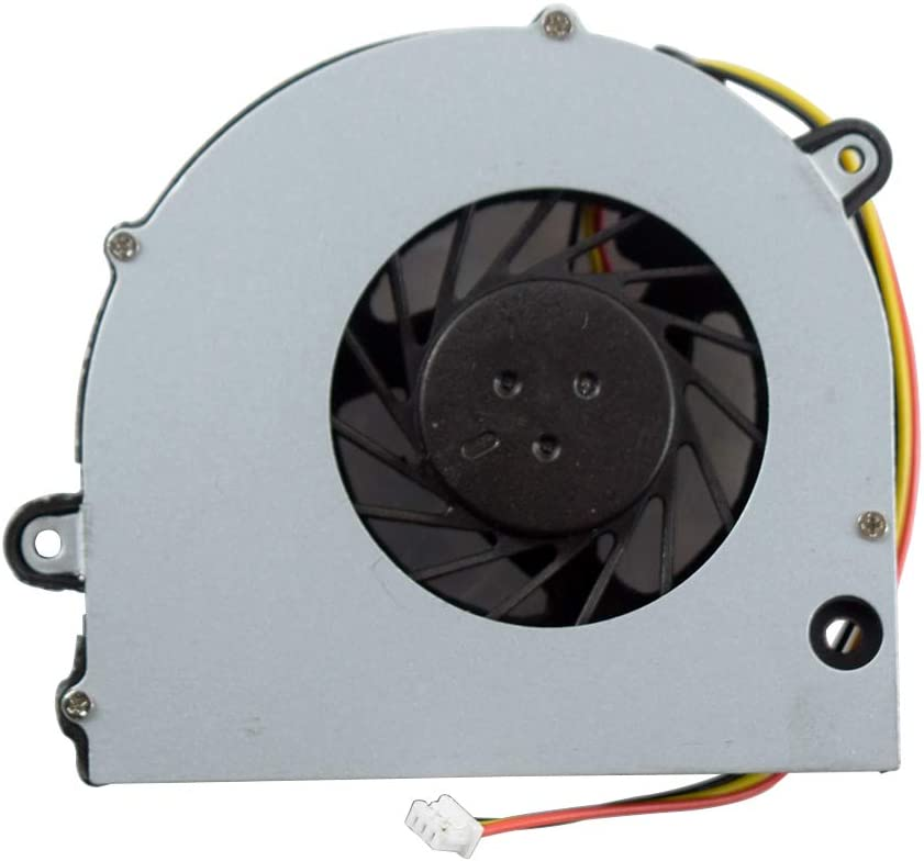 Replacement Laptop CPU Cooling Fan for Toshiba Satellite Pro L770 L775D L775 L770D L770 C675D C675 C670D C670 Series DC5V 0.34A Part Number H000026650 13N0-Y3A0Y01 KSB06105HA-AL1S UDQFLJP02CAS