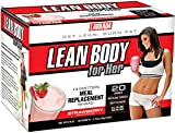 Labrada Nutrition Lean Body For Her Meal Replacement Powder, Strawberry, 1.7-Ounce Packets (Pack of 20) Review