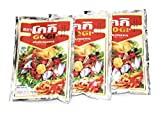 Gogi Tempura Batter | 3 pack | Traditional Fried Thai Self Rising Flour | 5.3 Oz | 150 g