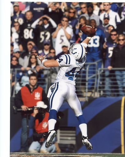 DALLAS CLARK INDIANAPOLIS COLTS UNSIGNED (Dallas Clark Colts)