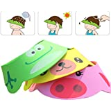 Rely2016 3Pcs Baby Shower Bathing Cap Frog Pig Bear...
