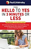 #8: From HELLO to YES in 3 Minutes or Less: How to Overcome Call Reluctance, Know Exactly What to Say and Deal With Rejection When Using the Telephone as a Network Marketing Professional