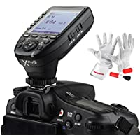 Godox Xpro-S for Sony TTL Wireless Flash Trigger 1/8000s HSS TTL-Convert-Manual Function Large Screen Slanted Design 5 Dedicated Group Buttons 11 Customizable Functions