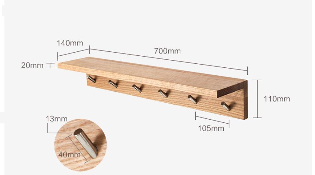 Amazon.com: Syzj ZJSY High-Strength Solid Wood Racks Wall ...