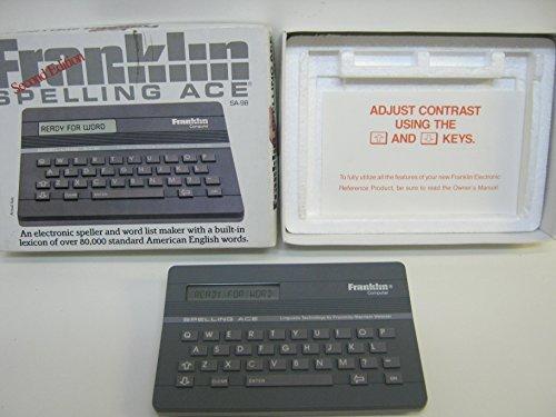 【在庫あり/即出荷可】 Franklin Edition Spelling [並行輸入品] Ace - Third Edition [並行輸入品] Ace B075859F74, 古本買取本舗:f6ed2699 --- a0267596.xsph.ru