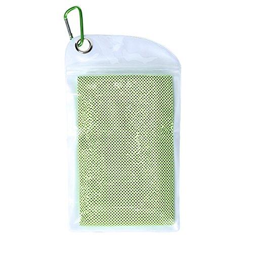 [해외]속 건 수건 쿨 타월 냉각 수건 스포츠 타 올 일사병 방지 초 흡수 가벼운 운동 수영 등산 여행 (녹색) / Quick-dry towel cool towel cooling towel sports towel heat stroke super absorbent light weight movement swimming climbing trip (green...