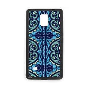 Cute TPU Gypsy Cobalt Charcoal Samsung Galaxy Note 4 Cell Phone Case Black