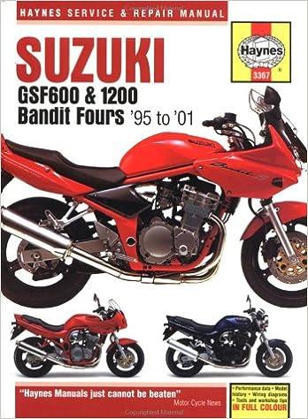 Haynes Manual Suzuki Bandit