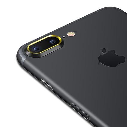 2f24c73fcb1b Sakula Camera Lens Protection Ring Plating Aluminum for iPhone 7 Plus  iPhone 8 Plus Camera Case Cover Ring Black/Gold
