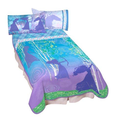 Brave's Princess Merida's Microraschel Blanket, 62 by 90-