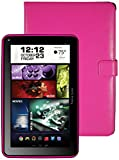 Visual Land Prestige ELITE 7Q-KC - 7'' Quad Core 8GB Android Tablet with Keyboard Case, KitKat4.4, Google Play (Magenta)