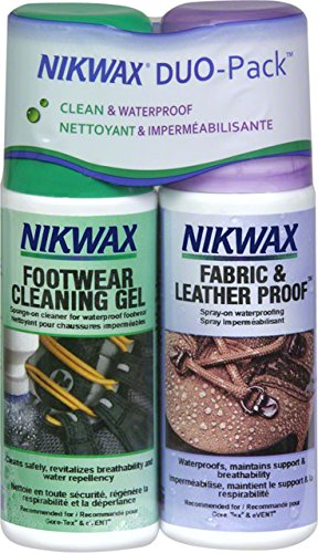 Nikwax Fabric Care - Nikwax Fabric & Leather Footwear Clean/Waterproof DUO-Pack 2 x 125ml