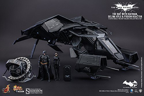 (Hot Toys DC Comics The Dark Knight Rises Batman The Bat 1/12 Scale Deluxe Set Catwoman by Hot)
