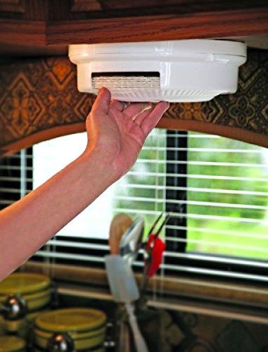Paper Plate Holder Storage Organizer Rack Dispenser Mount Under Cabinet RV Shelf ()