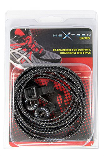 Stretchable Shoelaces (Shoe Laces (Black))