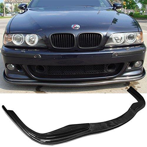 Front Bumper Lip Fits 1997-2002 BMW E39 M5 HM/Hamann Style Carbon Fiber (CF) Spoiler Splitter Valance Fascia Cover Guard Protection Conversion by IKONMOTORSPORTS | 1998 1999 2000 2001 ()