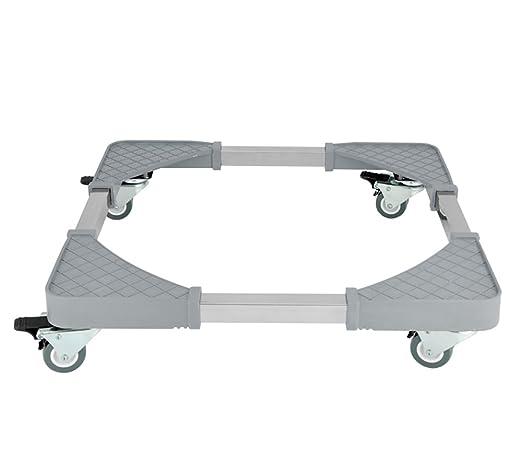 ZJM - Pedestal Ajustable para Lavadora de frigorífico, Color Gris ...